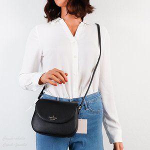 NWT Kate Spade Leila Mini Flap Leather Crossbody